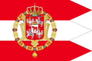 Royal Banner of Stanisław II of Poland