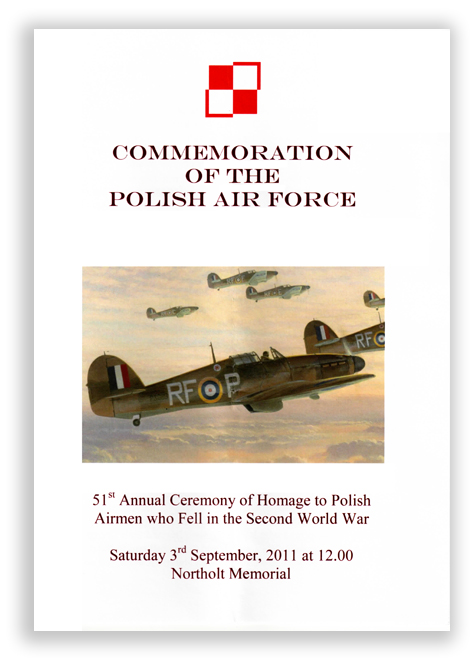 PAF Commemorative Programme Cover